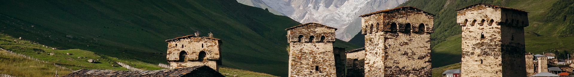 Сванетія: гори, море і вино