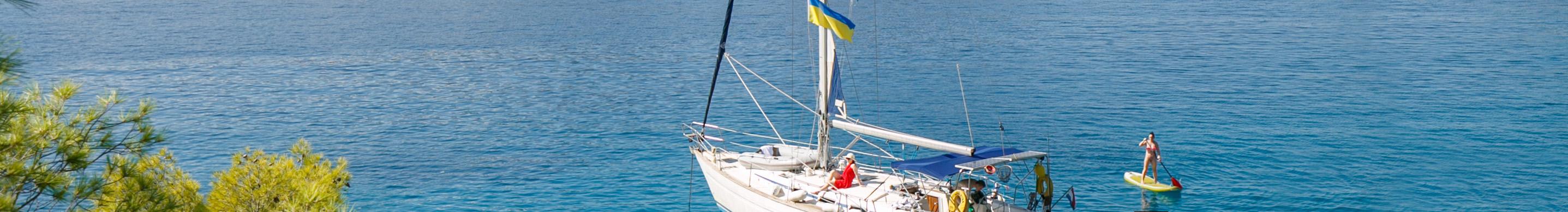 На яхті по островах Греції