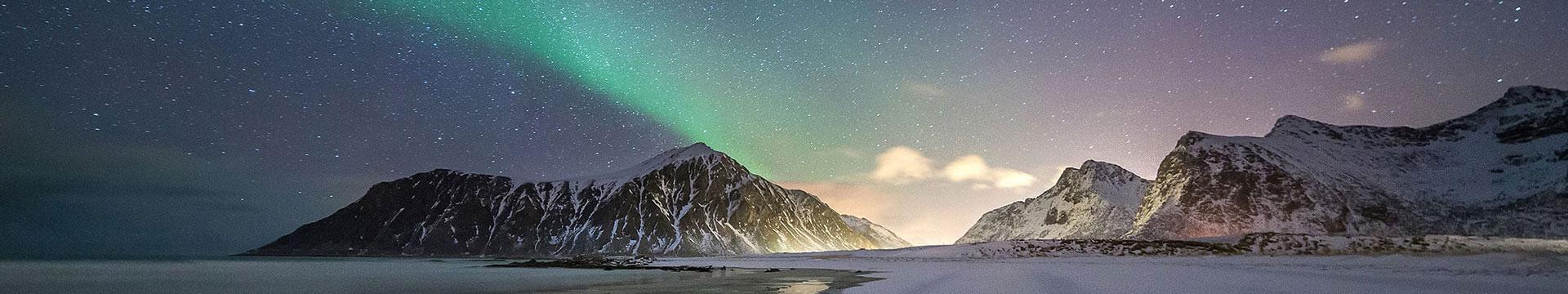 Полювання за полярним сяйвом на Лофотенах