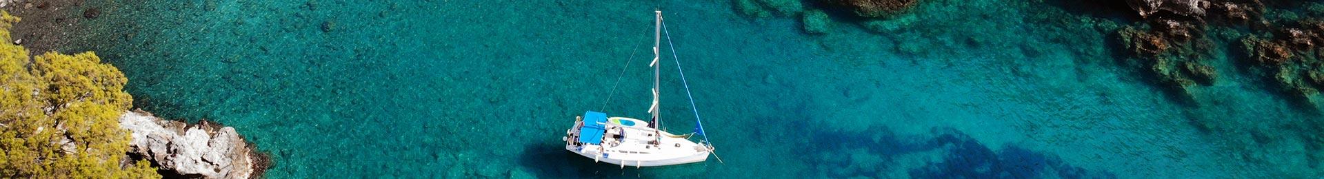 На яхті по Егейському морі